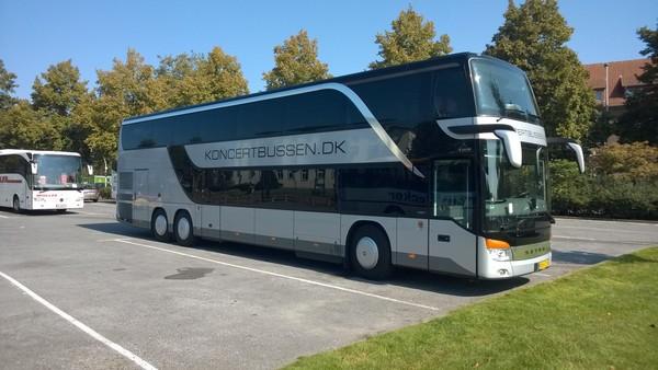 Bus til Celine Dion i Royal Arena