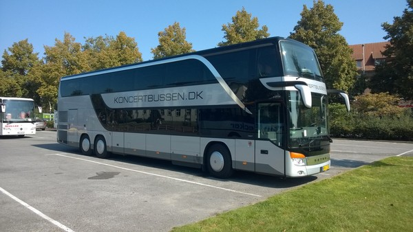 Bus til Ed Sheeran Øresundsparken