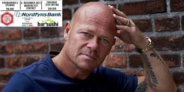Foredrag: Stig Tøfting - vinsmagning & sushi